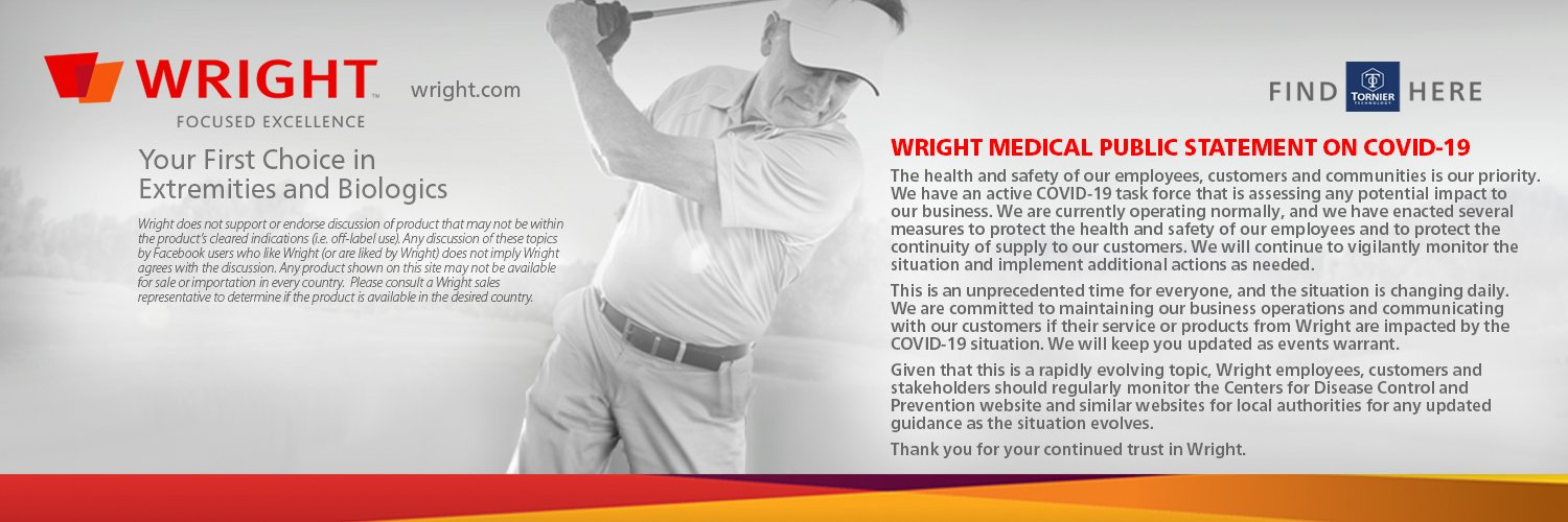 Wright Medical Group Inc Banner Image
